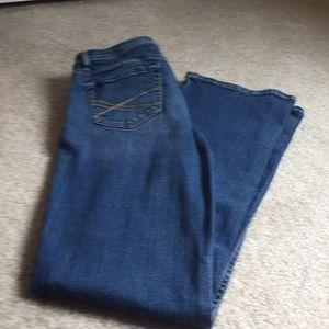 Aeropostale long jeans. Size 7/8 long. EUC.